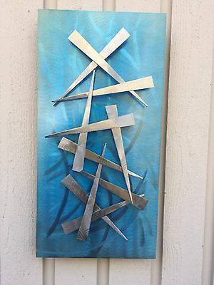Metal Wall art  Sculpture Abstract Home decor by Holly Lentz