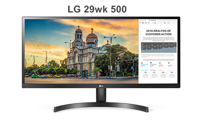 "LG 29wk500  21:9 Curved UltraWide  29"" Monitor WFHD (21:9) IPS x sRGB100% LED"