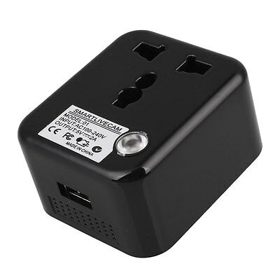 Pro Wireless WiFi Live Camera Hidden Plug For Andorid&IOS Devices Tools