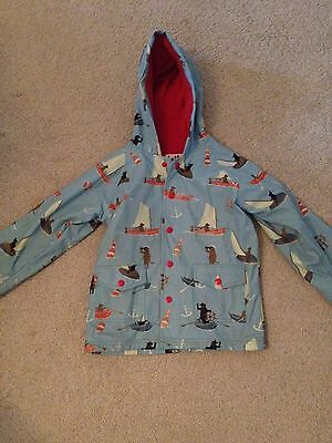 Boys Age 5 Rain Coat By Hatley
