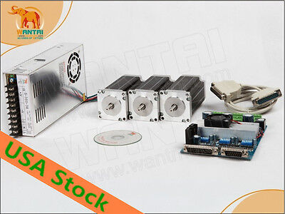 USA& EU Nema 23 stepper motor 1.9N,m(270oz-in) 4lead cnc factory directly 3days