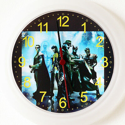 WATCHMEN Wall Clock - New 24cm movie Rorschach Silk Spectre Nite Christmas Gift