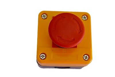 Emergency Stop switch control electrical 12V 24V safety machine electric !