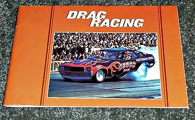 Cool 1973 Drag Racing Book, Dragsters, Funny Cars, Barracuda, 48 Pages