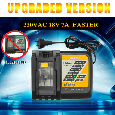 230VAC 18V Lithium Ion Battery Rapid Fast Charger For Makita BL1830 BL1840 BL185