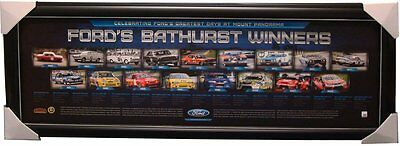 Ford Bathurst 50th Anniversary Winners Limited Edition Official Print Only
