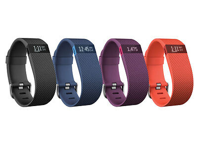 Fitbit Charge HR Small Blu senza fili Bluetooth fitness 24 mesi garanzia