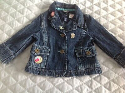 Girls Gap Demin Jacket Age 2