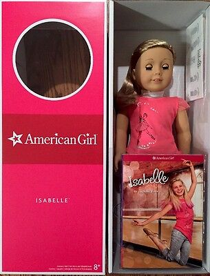 """AMERICAN GIRL ISABELLE 18"""" GOTY 2014 DOLL PINK HIGHLIGHTS New In Box SHIPS FAST!"""