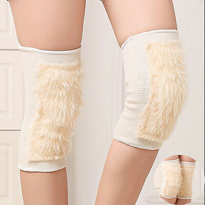 Unisex Thickness Windproof Winter Warmer Wool Riders Thermal Knee Leg Protector