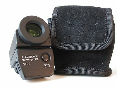 Olympus VF-2  Electronic View Finder /BOX/CASE/INSTR-   EXCELLENT REDUCED SALE!!