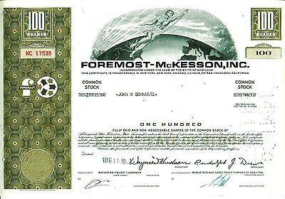 Foremost- Mc Kessson, Inc. 1967