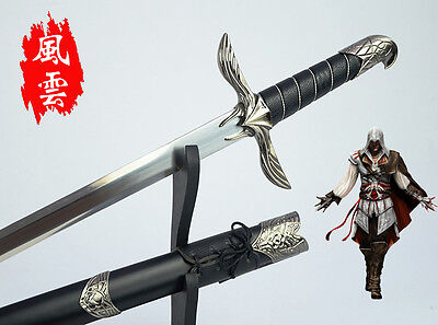 Assassins Creed Altair Sword Sheath Shelf Plate Blade Katana