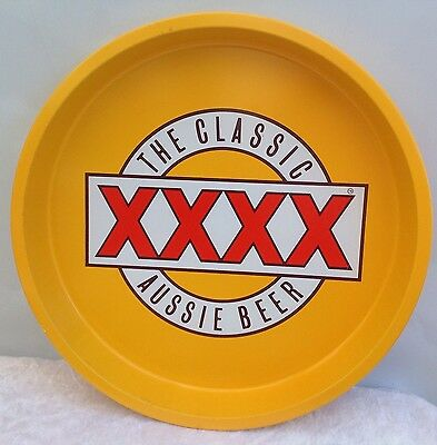 Vintage The Classic XXXX Aussie Beer Tray Four Bar Man Cave