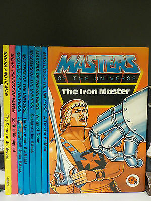 Ladybird - Masters Of The Universe - 8 Books Collection! (ID:41646)
