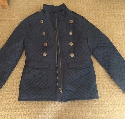 Girls Navy Jacket. Age 7-8 years. Next brand.