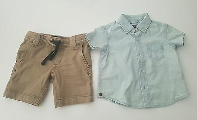 Indie & Co Kids Baby Shirt and Shorts 000 Industrie