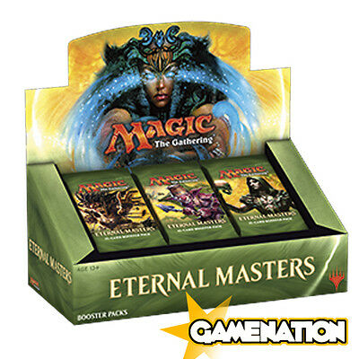 Magic the Gathering: Eternal Masters Sealed Booster Box (includes 24 Packs)
