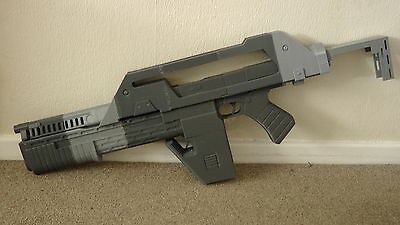 M41A PULSE RIFLE , ALIENS movie prop , full size replica , 3D PRINTED