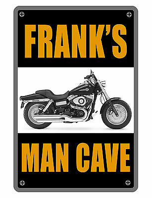 John/'s Man Cave Rules Personalized Shield Metal Sign Gift 211110007075