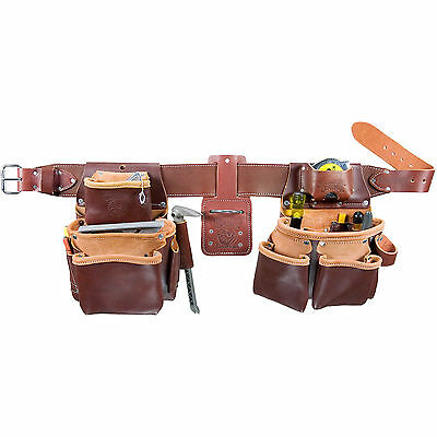 Large Tool Belt Pro Framer w/ Double Outer Bag O-B Occidental Leather 5080DB