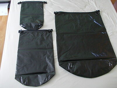 British Army Issue Black Liner Field Pack Waterproof Dry Bag S, M and L (New)