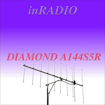 DIAMOND A144S5R - 5-elements 2m 144MHz BEAM ANTENNA YAGI VHF + FAST GLS DELIVERY