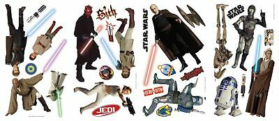 Star Wars Episodes 1 through 3 Peel and Stick Wall Decals