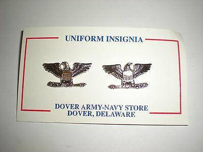 Us Army/ Usaf Colonel Rank - Small Shirt Size - 1 Pair