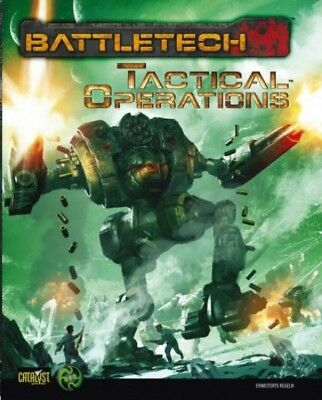 BattleTech Tactical Operations (Deutsch) US40005 Erweiterte Regel Catalyst Game