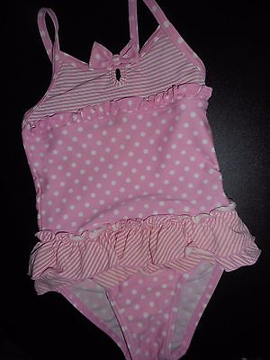 Girls 'george' Swimsuit/swimming Costume,  Age 12-18 Months.