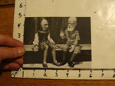 Vintage Puppet Marionette  Photo: lanchester marionettes G B SHAUN SHAKESPHERE