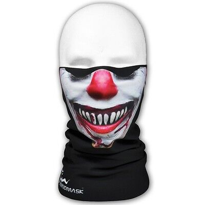 WINDMASK Evil Clown Winter Microfleece Tube Tunnel Schlauchtuch Halstuch