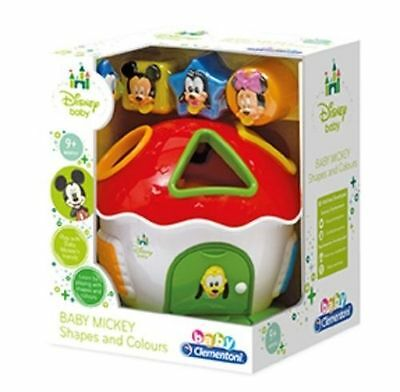 New Disney Mickey Mouse Shape And Colours Shape Sorter Baby Toys 9+ months