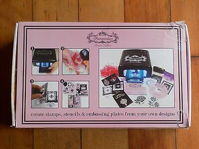 Teresa Collins (Imagepac) Rubber Custom Stamp maker kit complete with refills