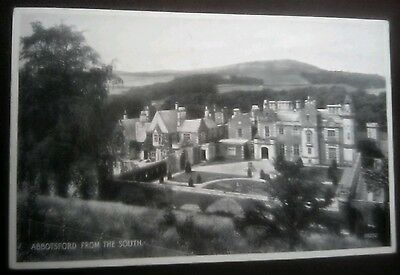 Vintage/Old Postcard.......,,  Abbotsford from the South