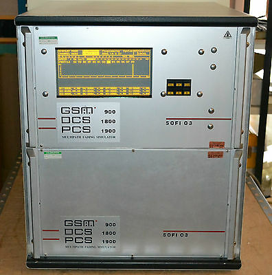SOFI 03 RF Fading Simulator for 900, 1800 and 1900 MHz bands