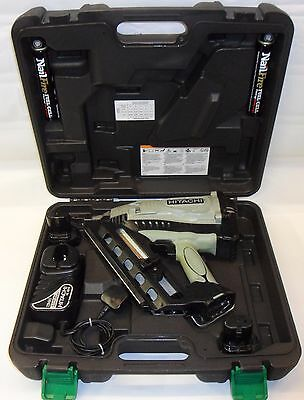 Hitachi NR90GC2 first fix nail gun just serviced & cleaned use paslode gas