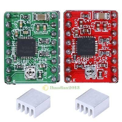 A4988 Stepper Motor Driver Module 3D Printer Polulu StepStick RAMPS RepRap 4Pcs