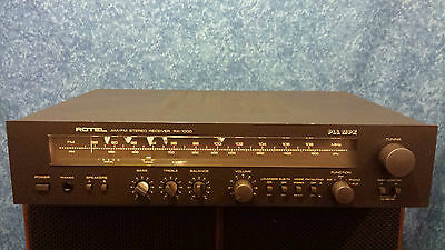 Rotel Am / Fm Stereo Receiver Rx 1000