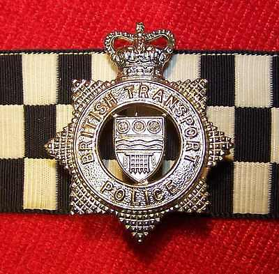 Obsolete British Transport Police New Condition Cap Badge Wales England Scotland