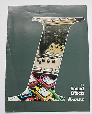 Ibanez 84 Sound Effects Catalog With Serie 9 Pedals