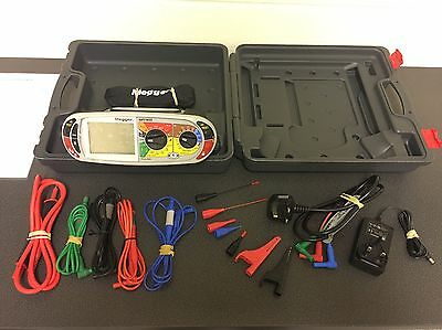 Megger Mft1835 Multifunction Tester - Loop Rcd Ins Cont - Fully Calibrated