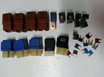 Nissan relays and fuses