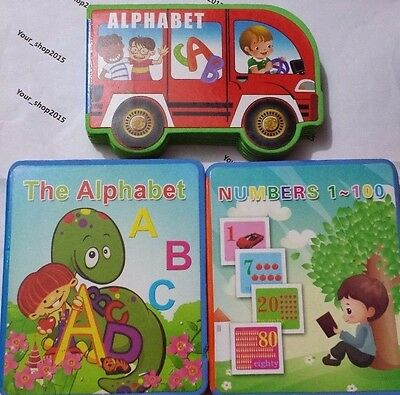 Soft ABC Alphabet Letters Numbers Pictures Early Learning Educational Kids Books