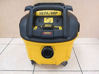 DeWALT DWV010: HEPA RRP Dust Extractor with Automatic Filter Cleaning, 8-Gallon