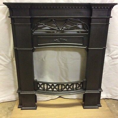Small Victorian Style Cast Iron Fire Surround