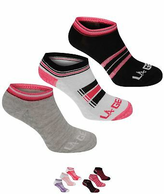 FASHION LA Gear Yoga Sock 3 Pack Ladies Multi