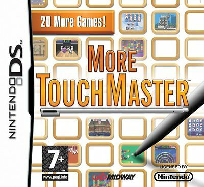 *BOX & MANUAL ONLY* MORE TOUCHMASTER - NINTENDO DS / DSi