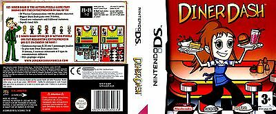 *BOX & MANUAL ONLY* DINER DASH - NINTENDO DS / DSi